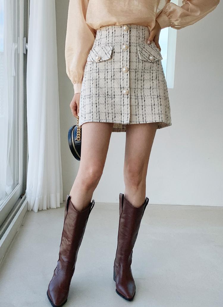 ツイードミニスカート・全2色