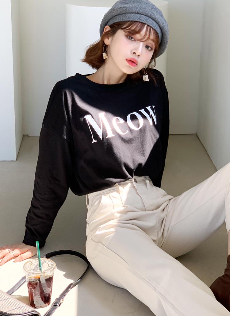 MeowロゴTシャツ・全3色