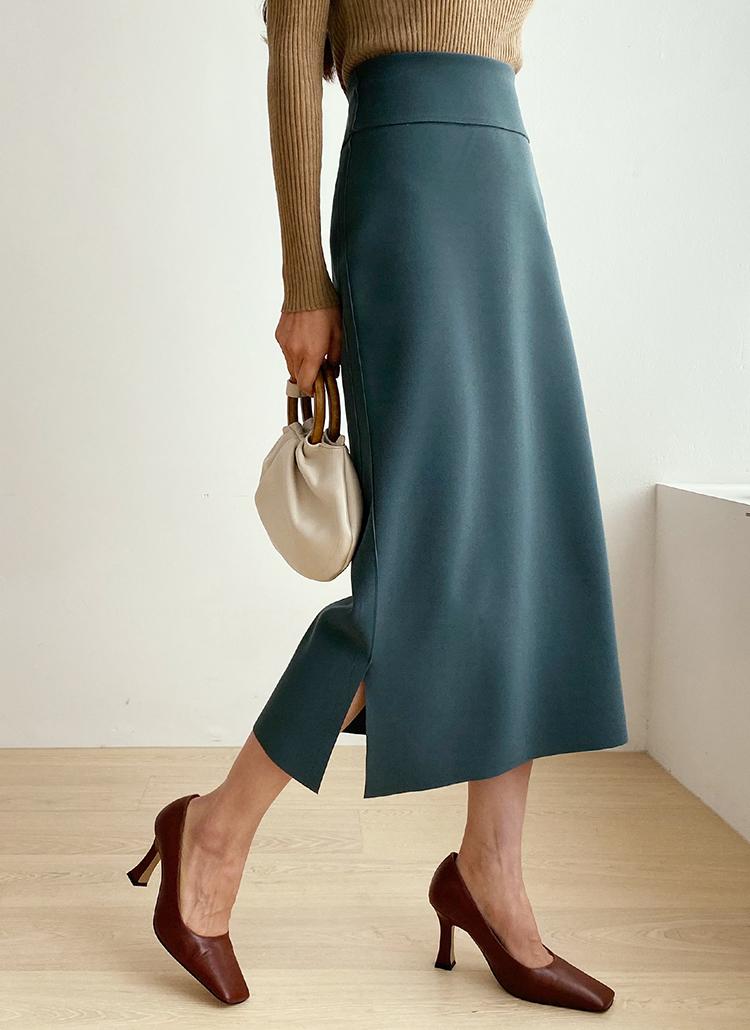 スリットヘムスカート・全3色