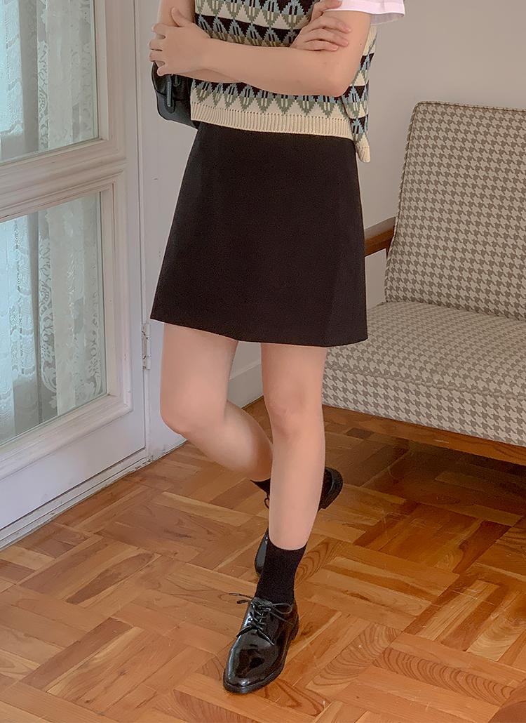 Aラインミニスカート
