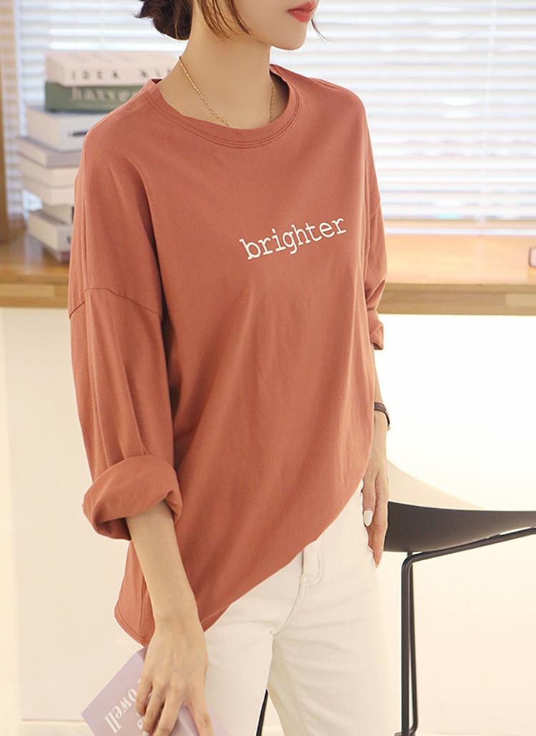 brighter長袖Tシャツ
