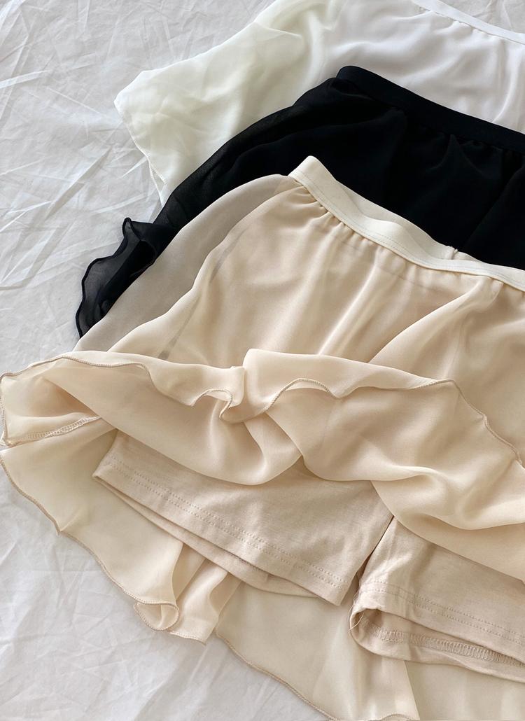 インナースカートパンツ・全3色