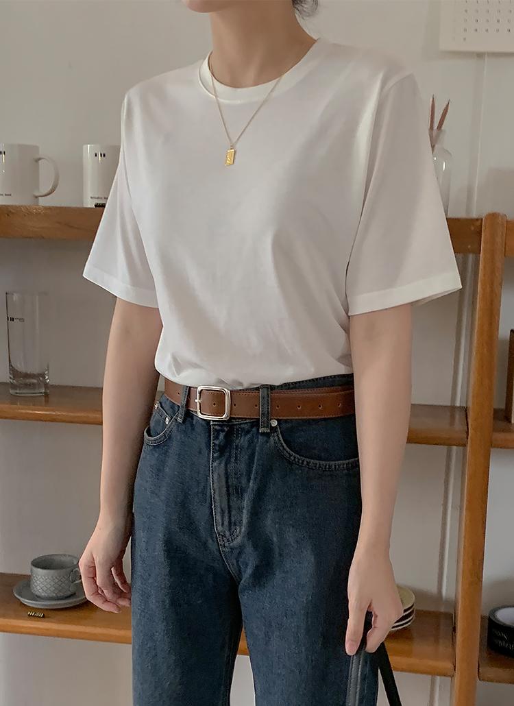 レーヨンブレンドTシャツ