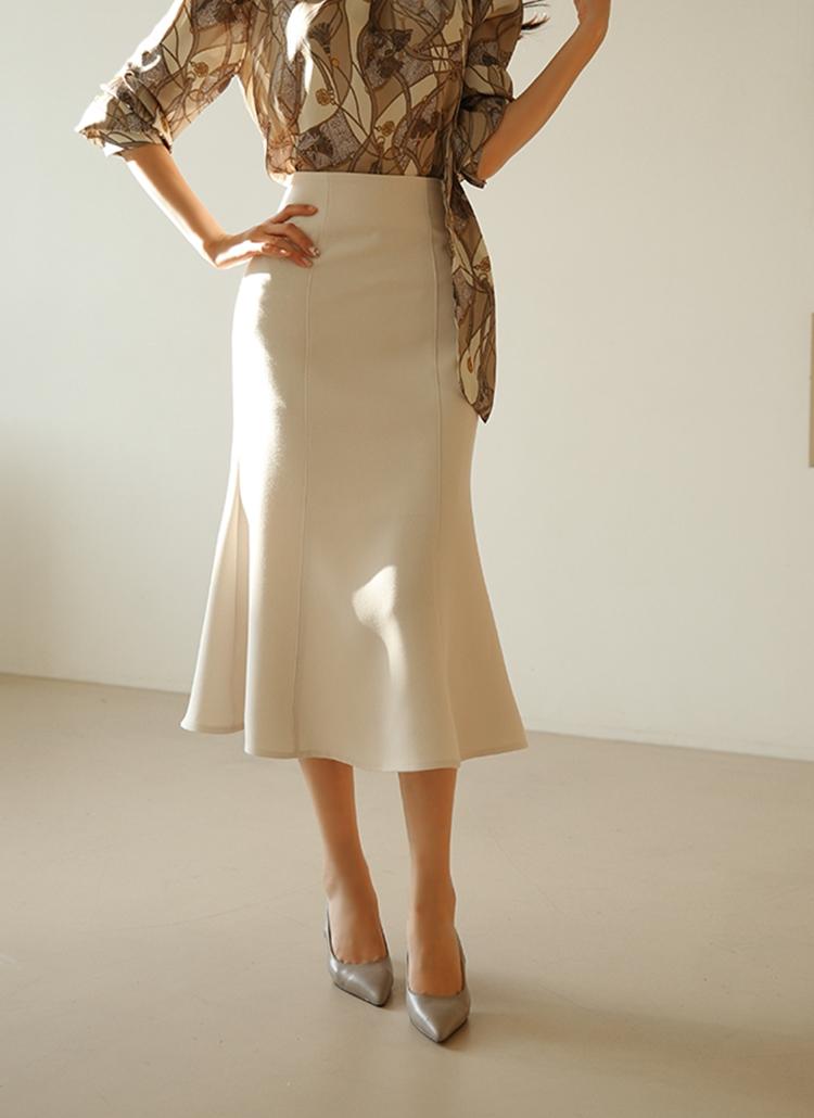 マーメイドパネルスカート