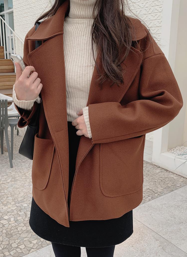 アウトポケットコート