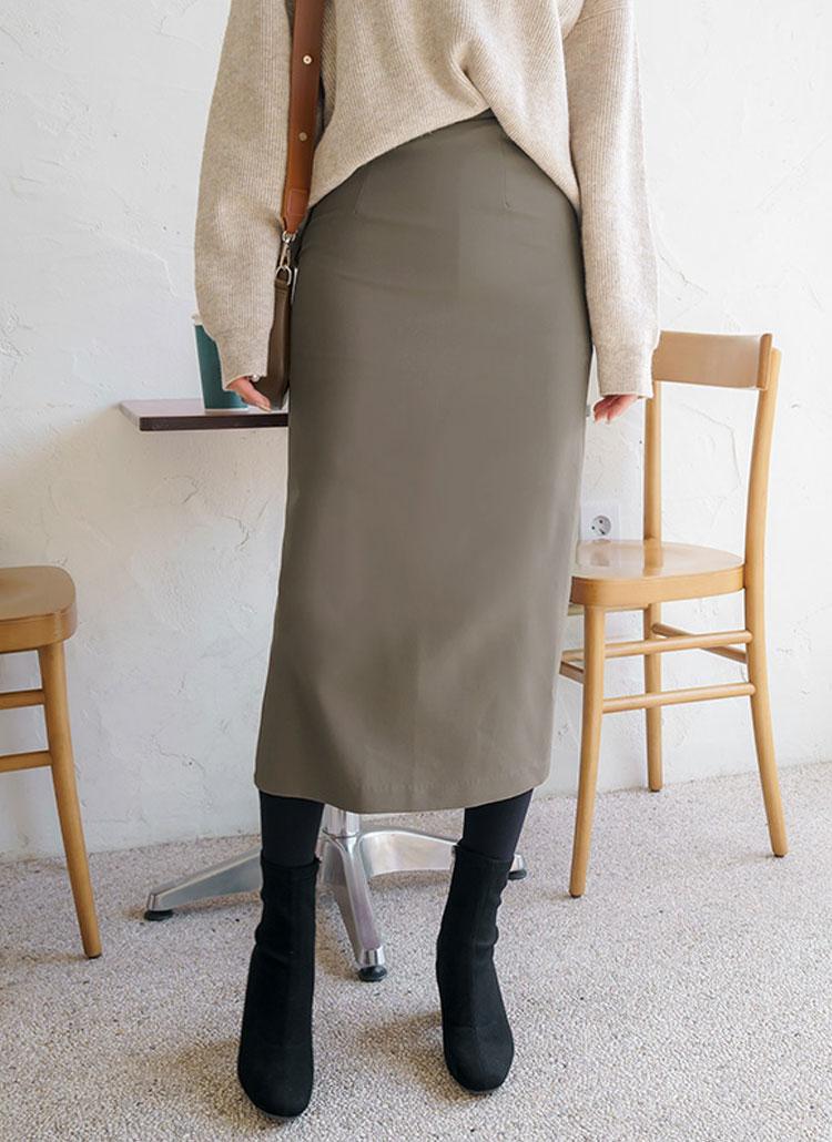 バックゴムロングスカート