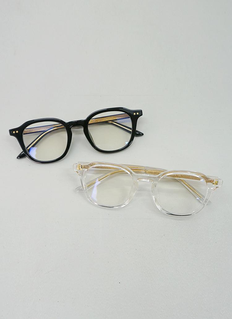 ゴールドラインテンプル眼鏡