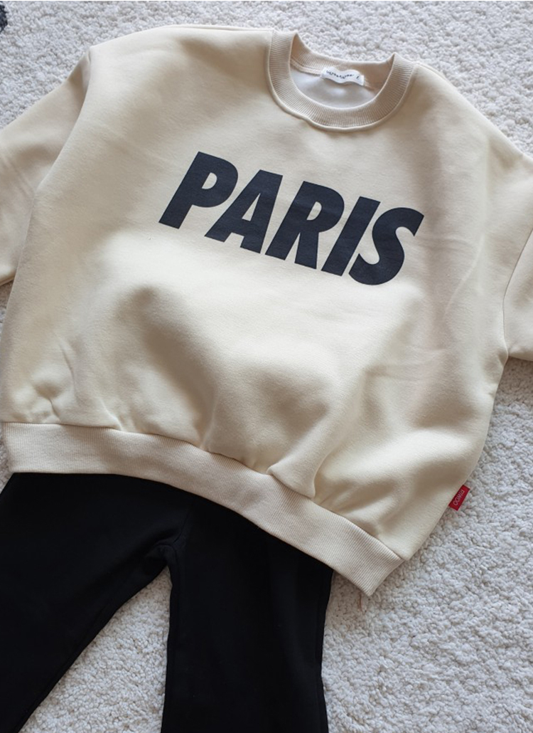 裏起毛PARISスウェット(junior)