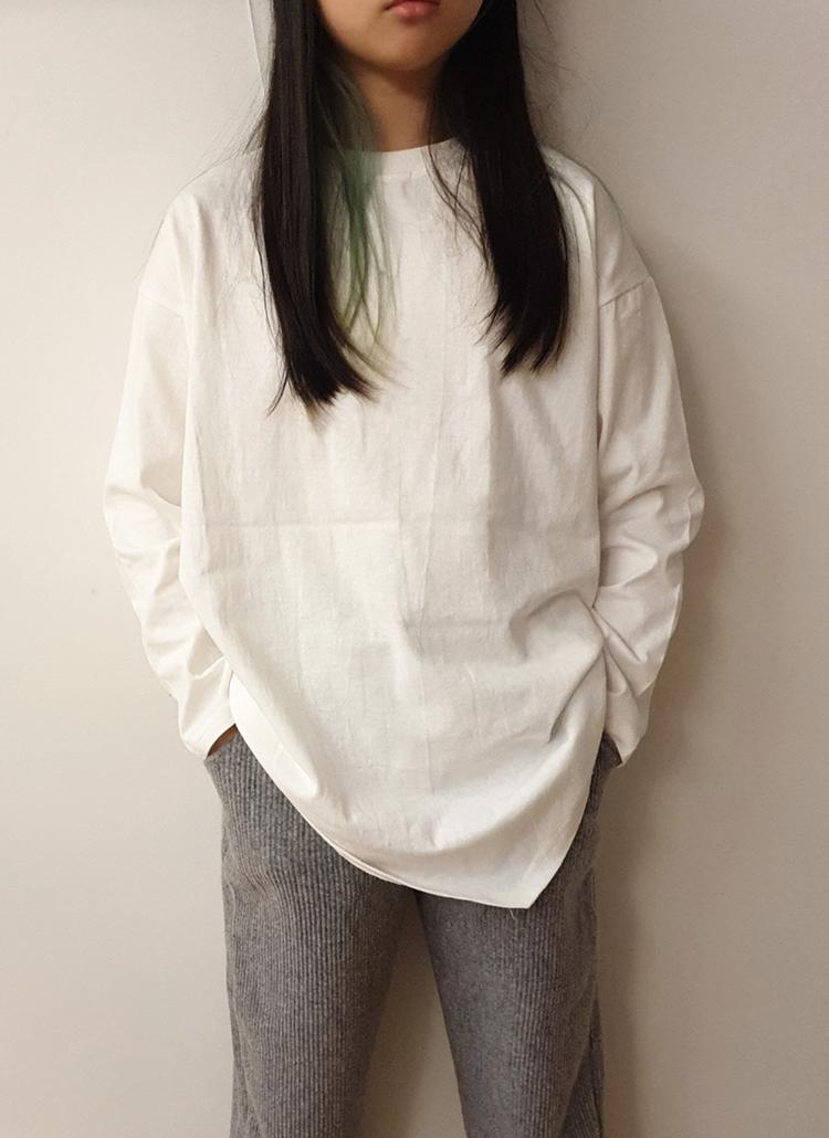 アンバランスTシャツ(junior)