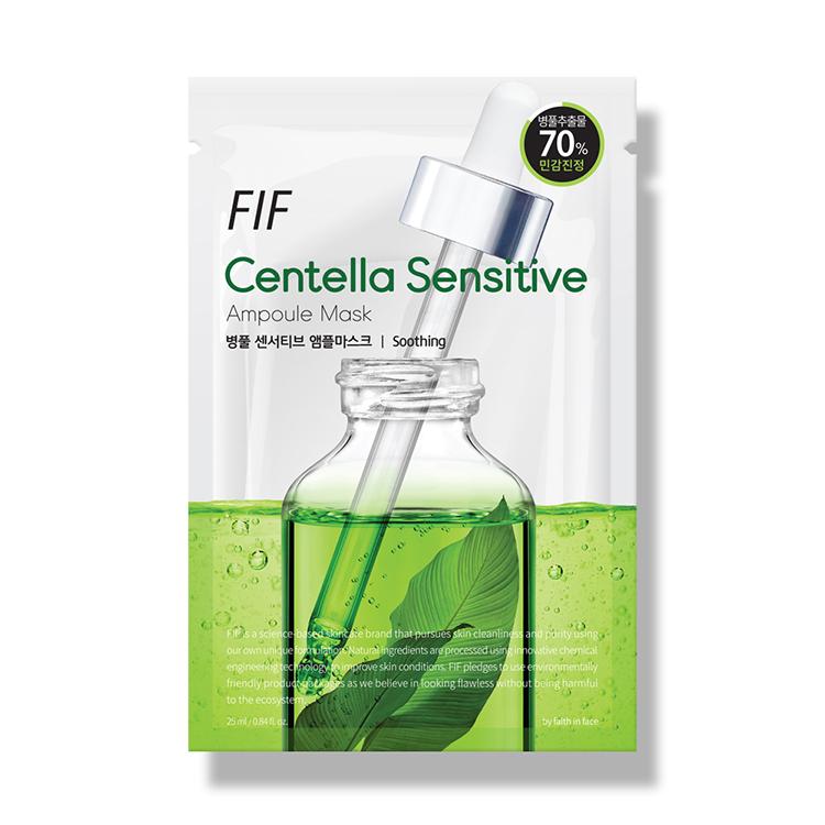 [エフアイエフ] センテラセンシティブ美容液マスク 1枚