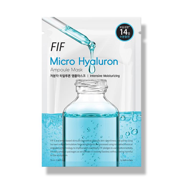 [エフアイエフ] マイクロヒアルロン美容液マスク 1枚