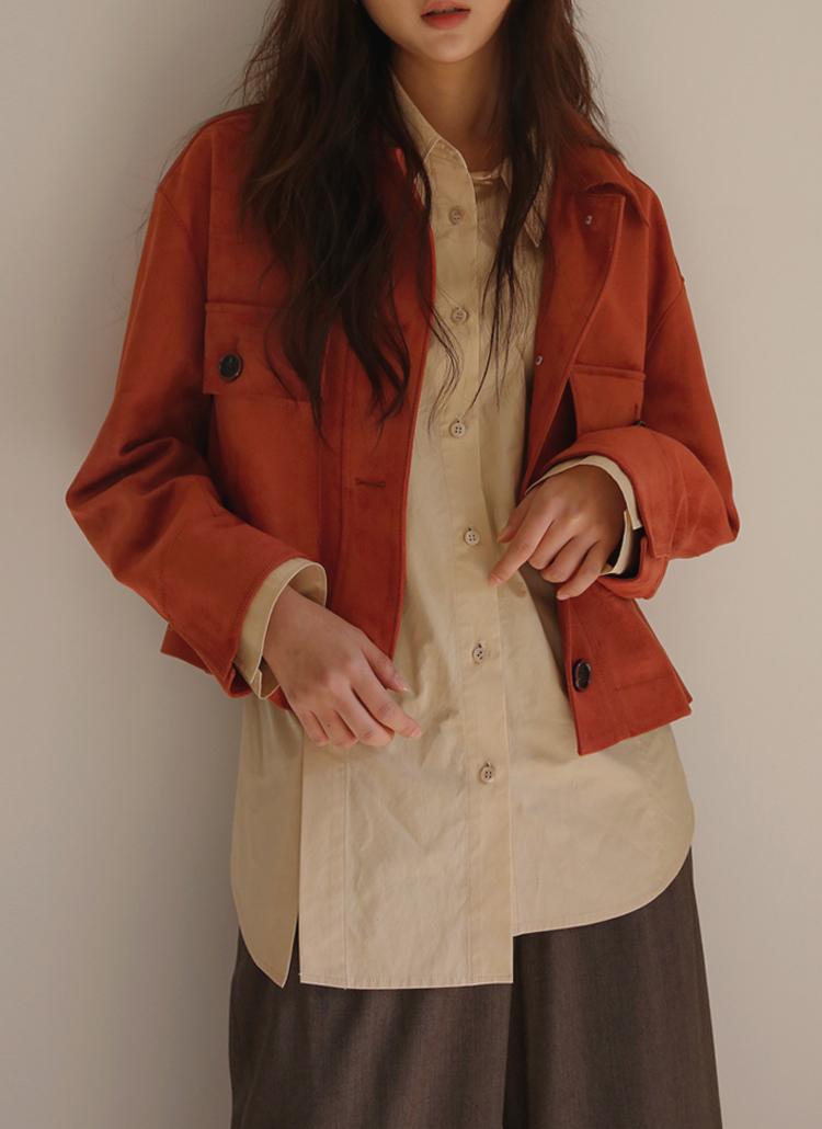 スエードライクジャケット