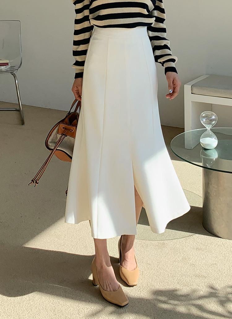 スリットマーメイドスカート・全3色