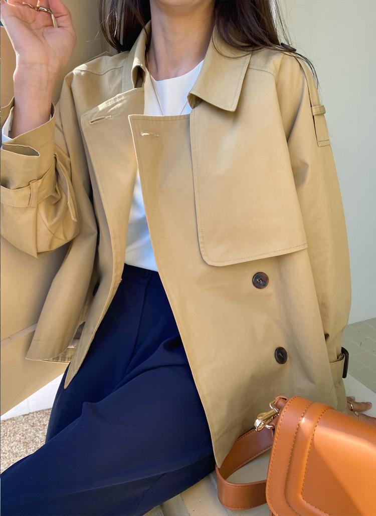 ガンフラハーフトレンチジャケット・全4色
