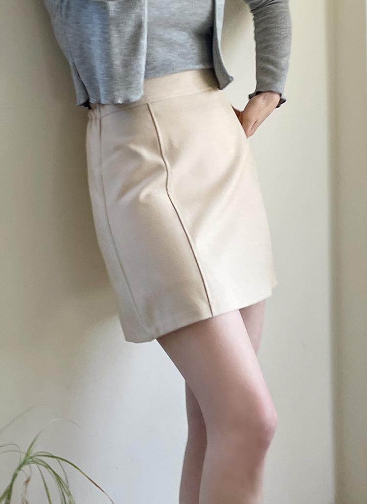 Aラインミニスカート・全5色