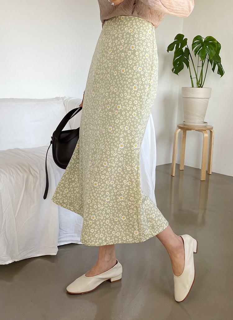 フローラルロングスカート・全3色