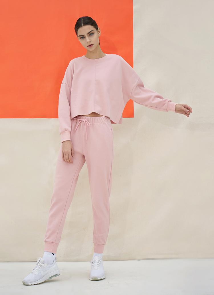 ジョガーパンツ(milk pink)