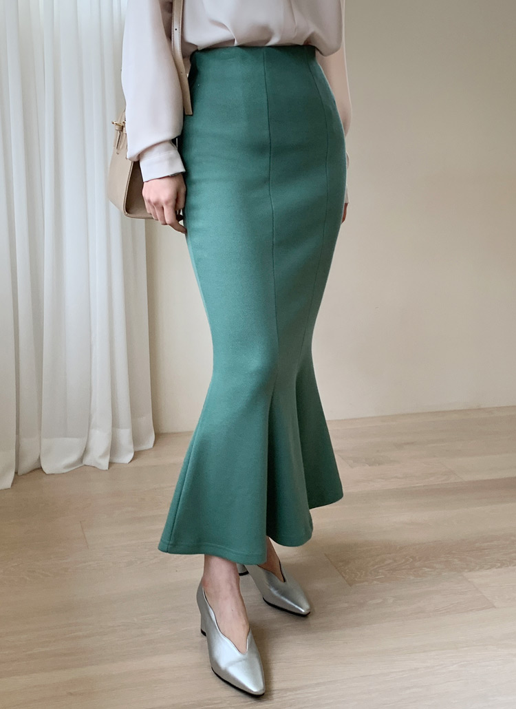 スリムマーメイドスカート・全3色