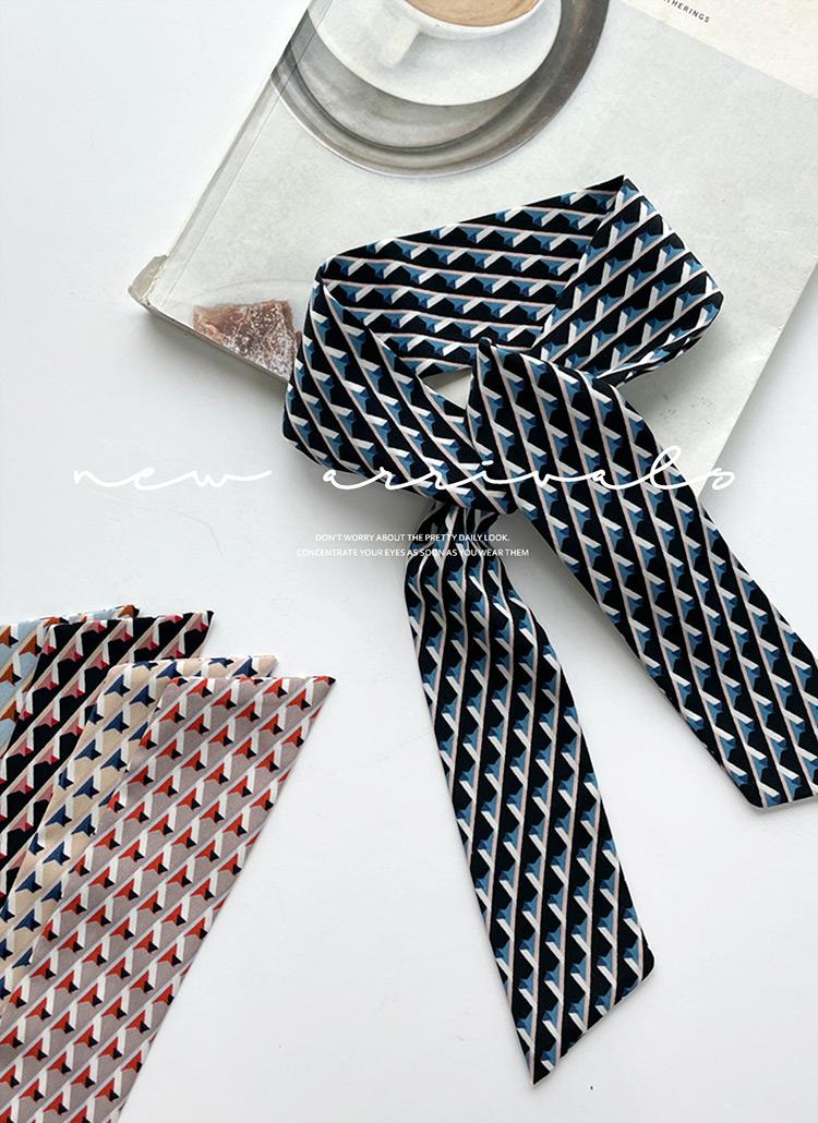 パターンツイリースカーフ・全5色