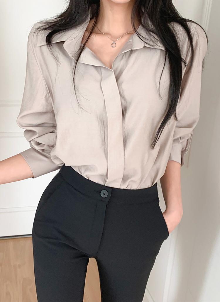 フライフロントシャツ