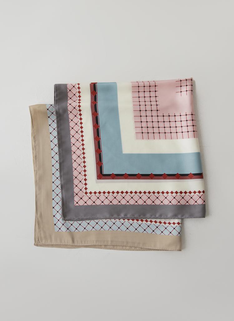 ソフトカラーリングスカーフ
