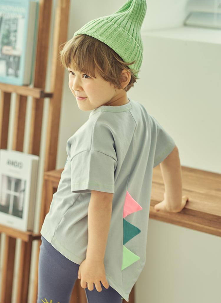 ダイナソー半袖Tシャツ