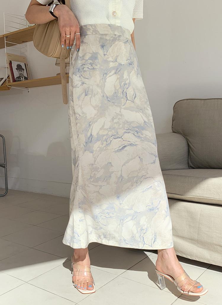 プリントロングスカート・全3色