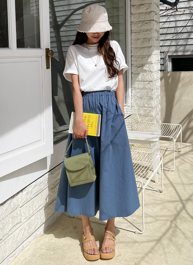 フリルAラインスカート・全4色