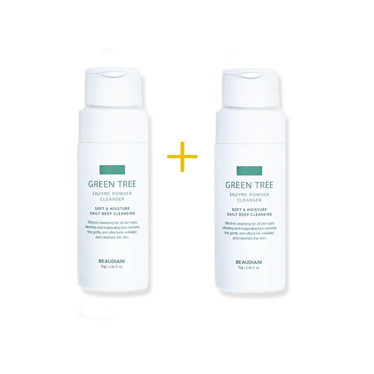 [ビューディアニ] グリーンツリー酵素パウダークレンザー 1+1