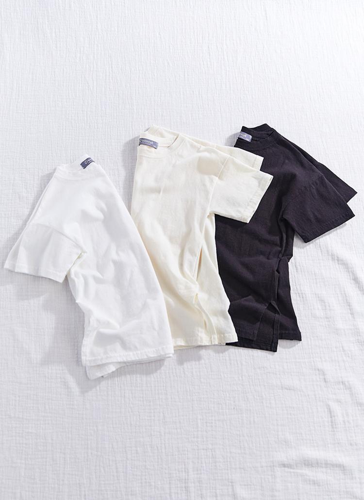 スリットヘム半袖Tシャツ(Junior)