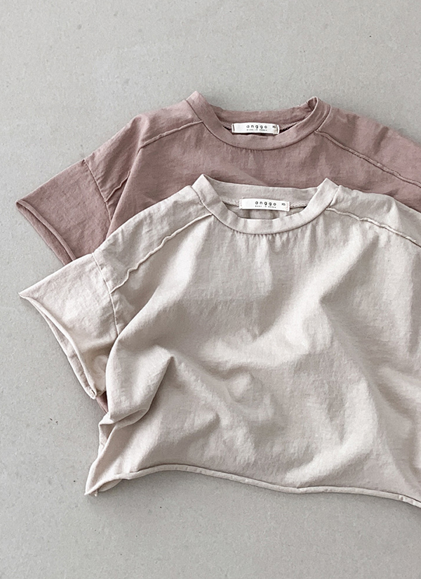 ショルダーライン半袖Tシャツ(baby)