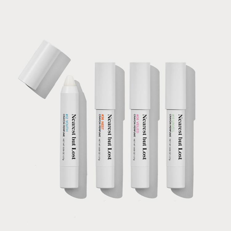 [ニアレストバットロスト] クレヨンパヒュームリミテッドコレクション(スティック香水 4種セット)