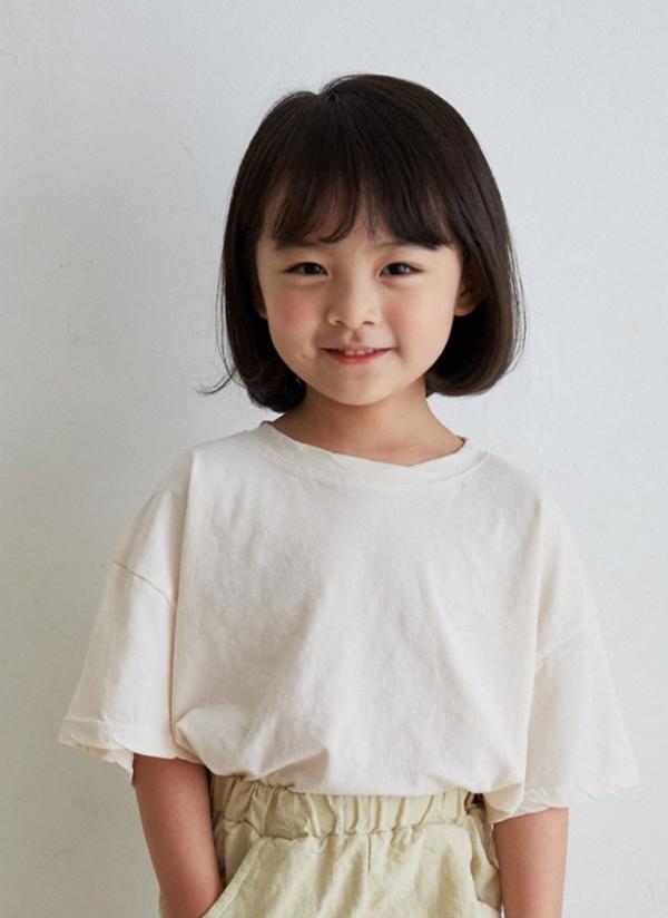 コットンオーバー半袖Tシャツ(junior)