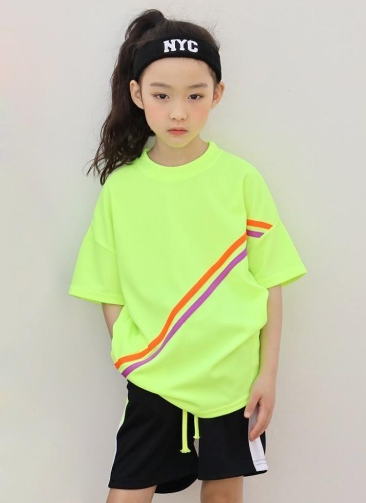 ダブルライン半袖Tシャツ(junior)