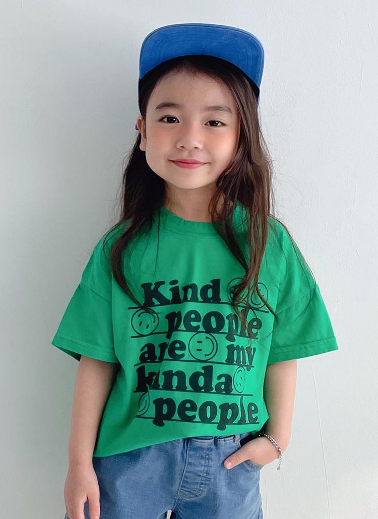 kindスマイル半袖Tシャツ