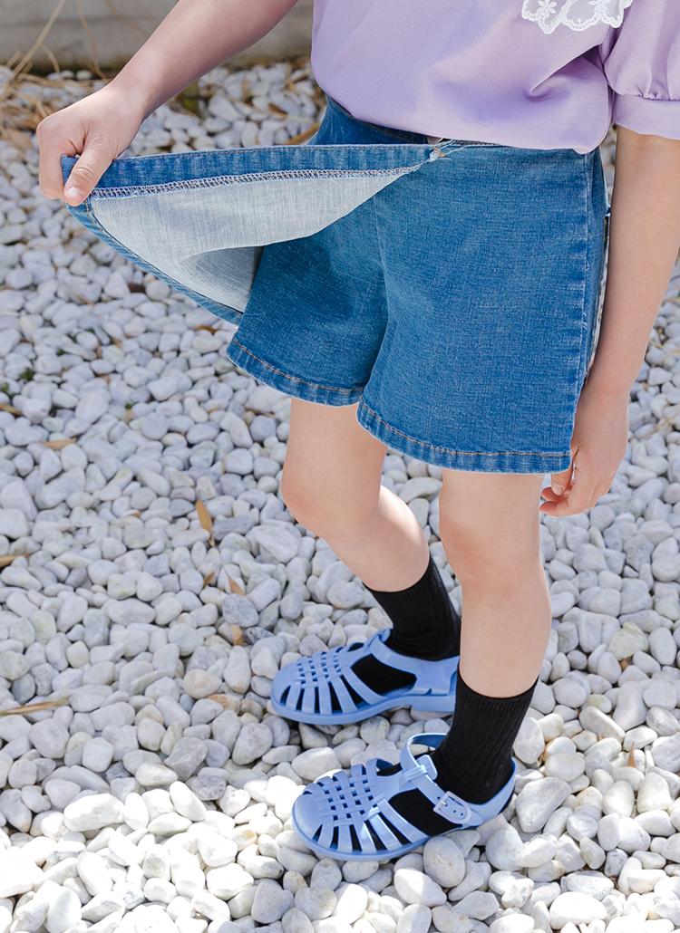 ラップデニムスカートパンツ(junior)