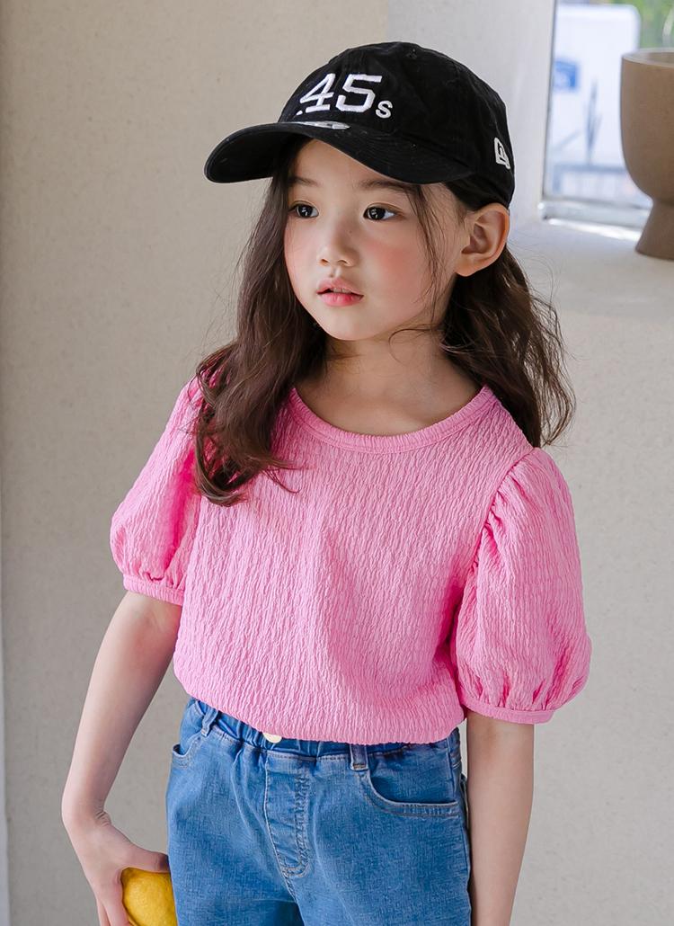 パフ半袖Tシャツ(junior)