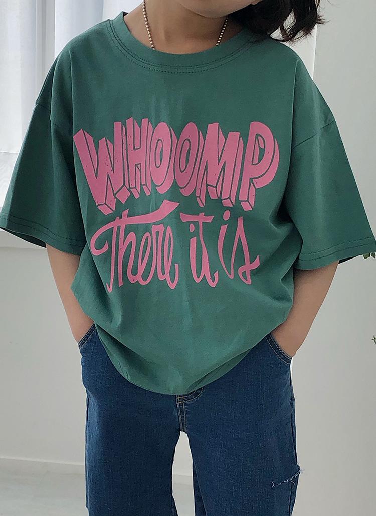 立体ロゴ半袖Tシャツ(kids)