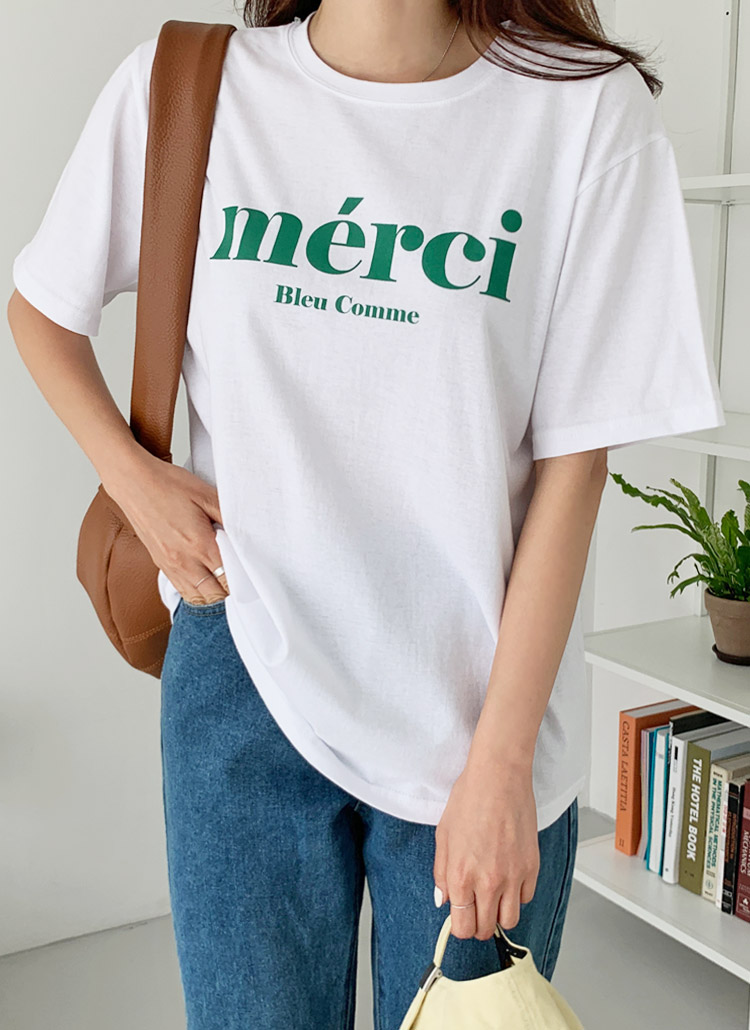 merci半袖Tシャツ