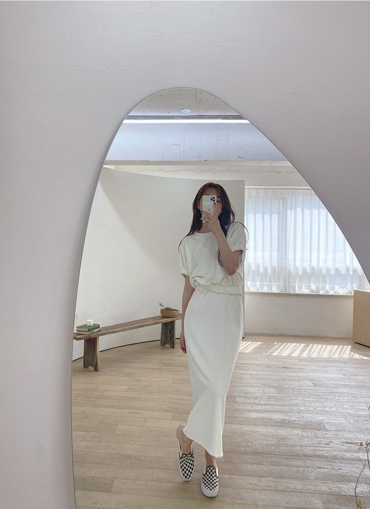 2TYPEスリットHラインスカート