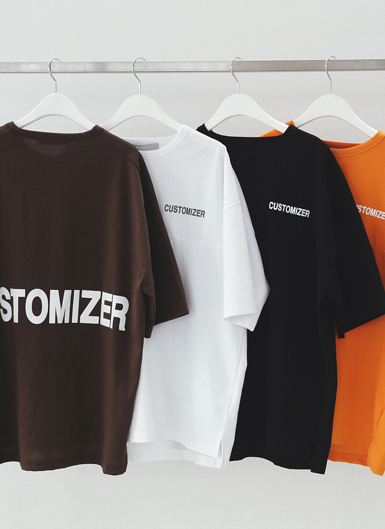 今年の夏はこれで決まり!<br/>CUSTOMIZER半袖Tシャツ
