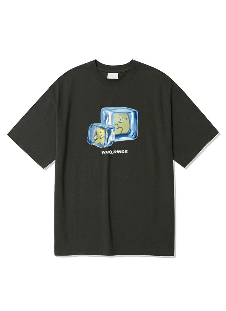 アイスキューブプリント半袖Tシャツ