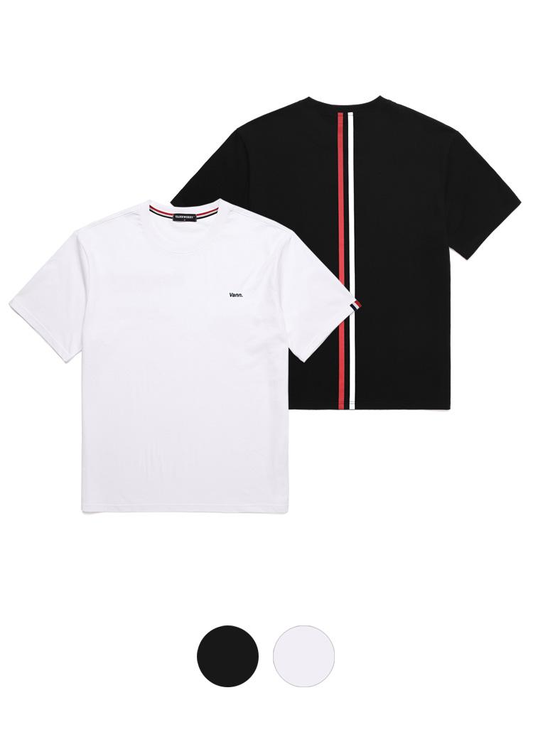 バックライン半袖Tシャツ