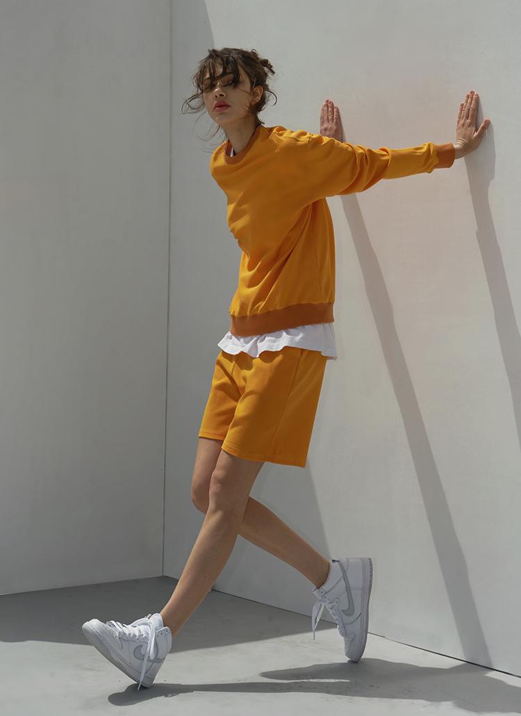 ショートパンツ(gold orange)