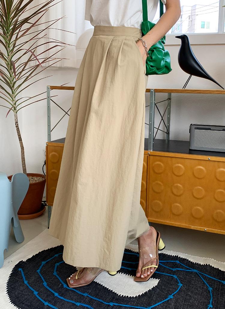 タックAラインスカート・全3色