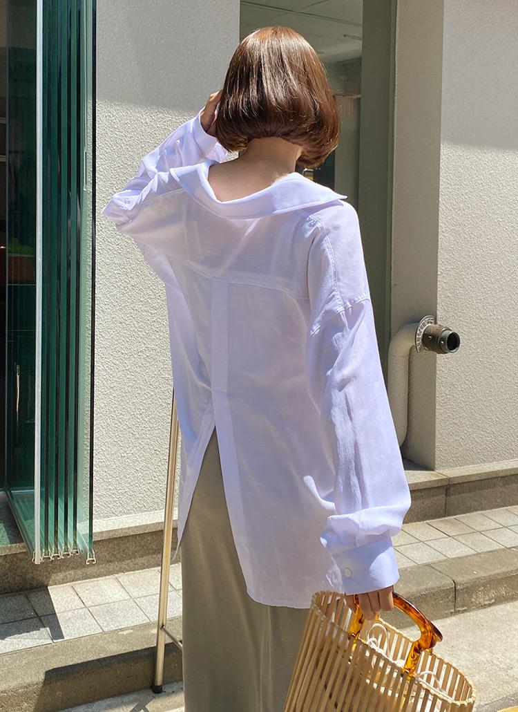 スリットルーズシャツ・全3色