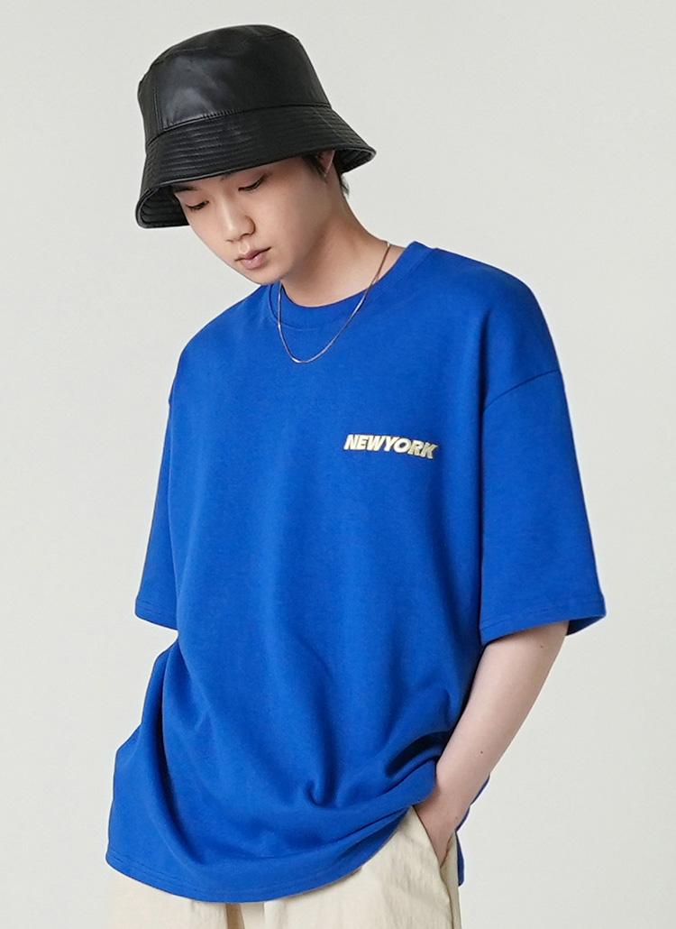 ブライトNEWYORKロゴTシャツ・全3色