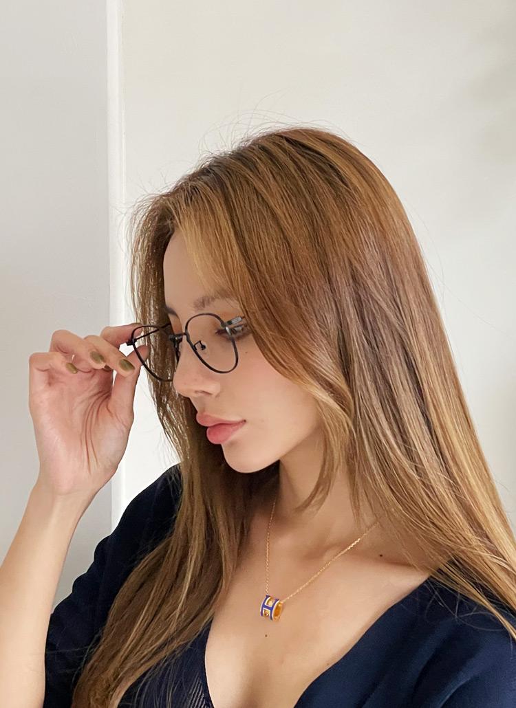 UV4002TYPEメタルフレーム メガネ・全4色
