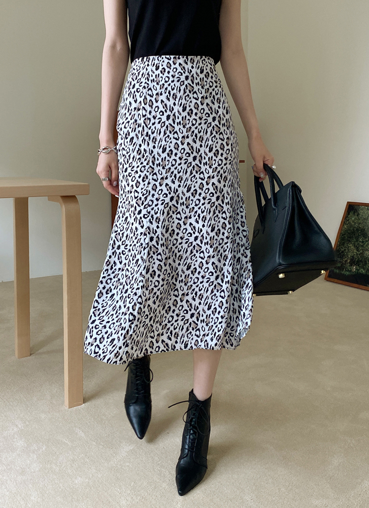 レオパードマーメイドスカート・全2色