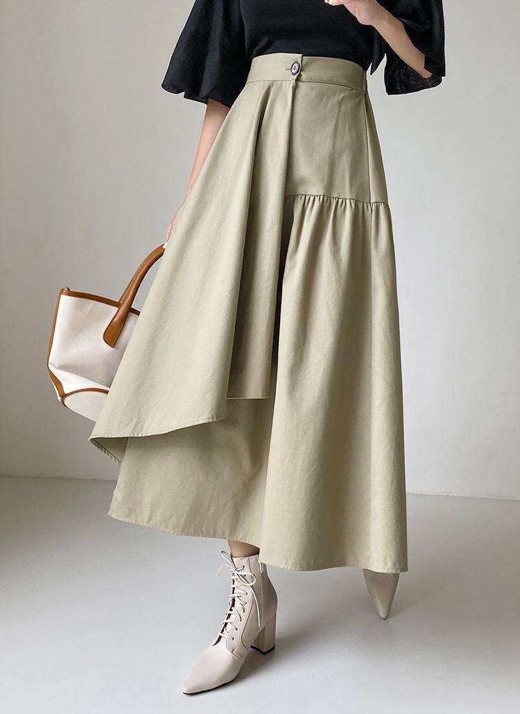 ラップフレアスカート・全3色
